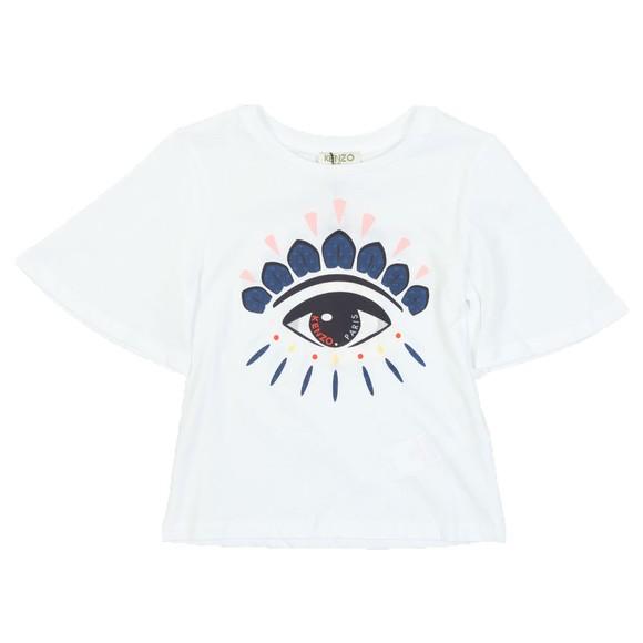 Kenzo Kids Girls White Fabiana T Shirt