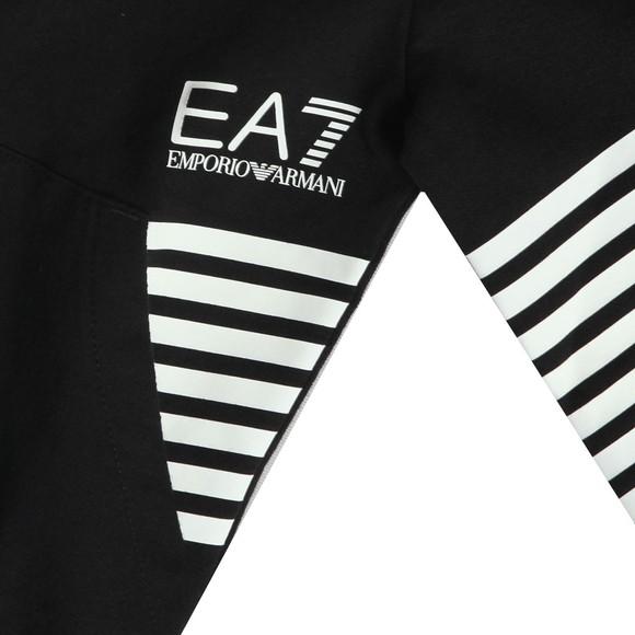 EA7 Emporio Armani Boys Black Chevron Logo Tracksuit main image
