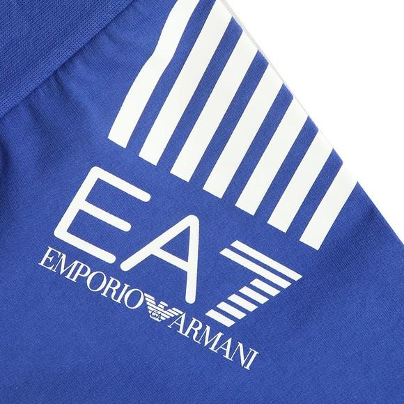 EA7 Emporio Armani Boys Blue Boys Side Logo Jersey Short main image