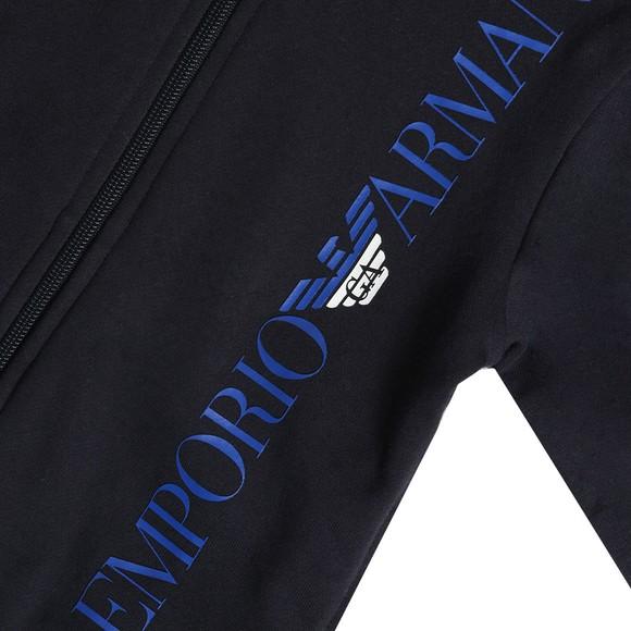 Emporio Armani Boys Blue Boys Side Logo Tracksuit main image