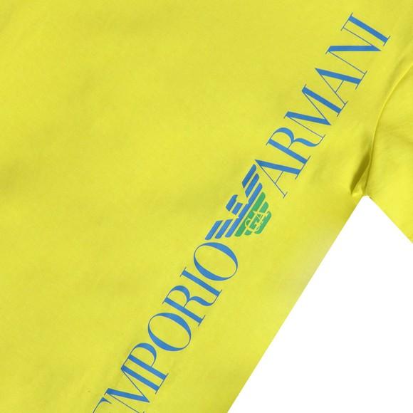 Emporio Armani Boys Yellow Boys Logo T Shirt main image