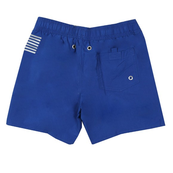 EA7 Emporio Armani Boys Blue Logo Swim Short main image
