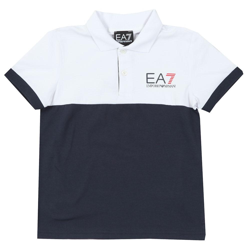 outlet for sale cheap for discount women Boys White Boys Colour Block Polo Shirt