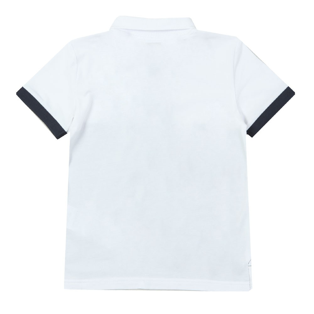 Boys Colour Block Polo Shirt main image