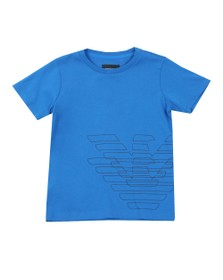 Emporio Armani Boys Blue Boys Logo T Shirt