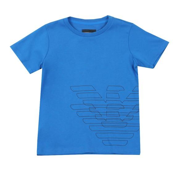 Emporio Armani Boys Blue Boys Logo T Shirt main image