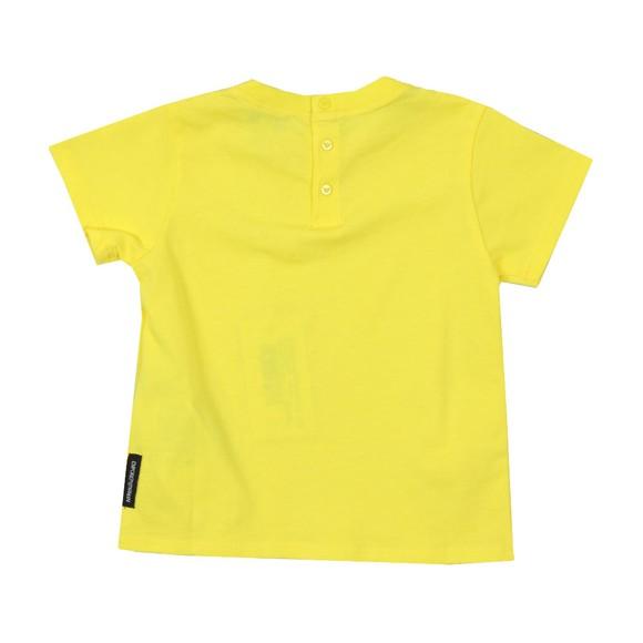 Emporio Armani Baby Boys Yellow Small Logo T Shirt main image