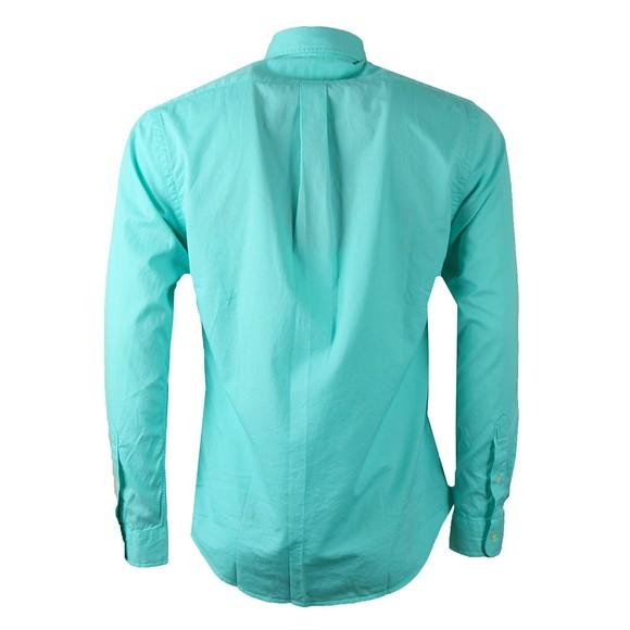 Polo Ralph Lauren Mens Green Slim Fit Feather Weight Shirt