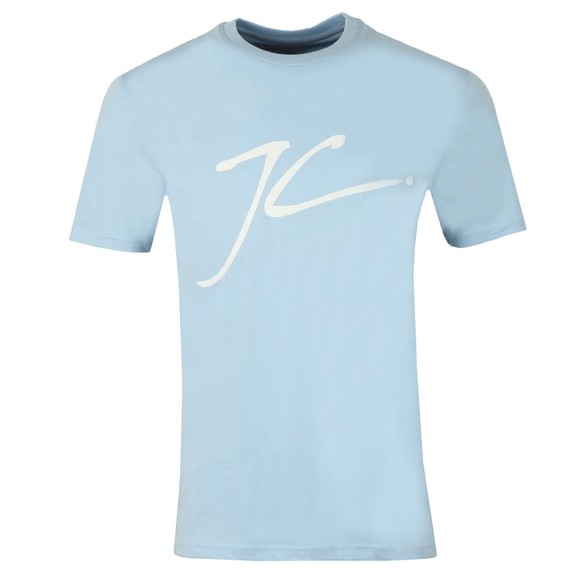 Jameson Carter Mens Blue Large Logo JC T-Shirt main image