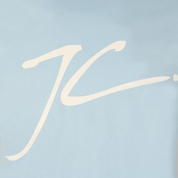 Jameson Carter Mens Blue Large Logo JC T-Shirt main image