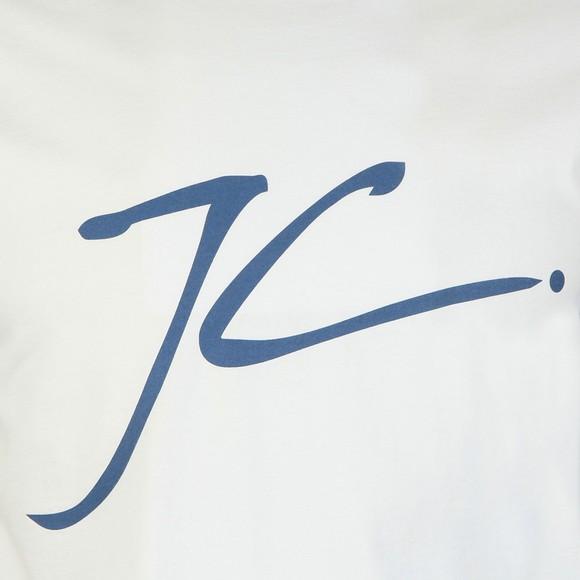 Jameson Carter Mens White Large Logo JC T-Shirt main image