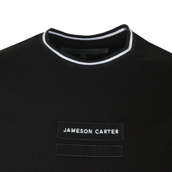 Jameson Carter Mens Black Holborn T-Shirt main image