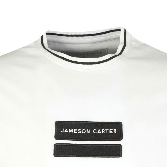 Jameson Carter Mens White Holborn T-Shirt main image