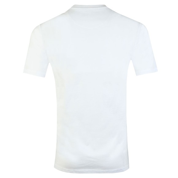 Jameson Carter Mens White Paint Stripe T-Shirt main image