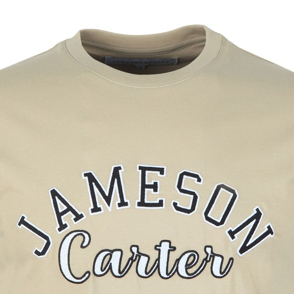 Jameson Carter Mens Beige Barts T-Shirt main image