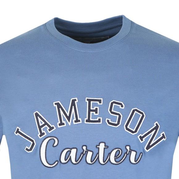 Jameson Carter Mens Blue Barts T-Shirt main image