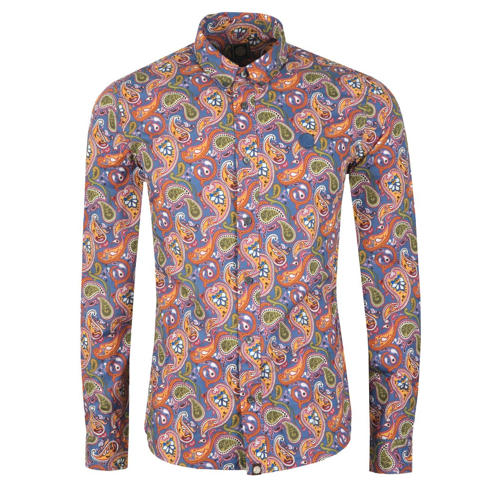 Slim Fit Paisley Print Shirt main image
