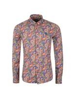 Slim Fit Paisley Print Shirt
