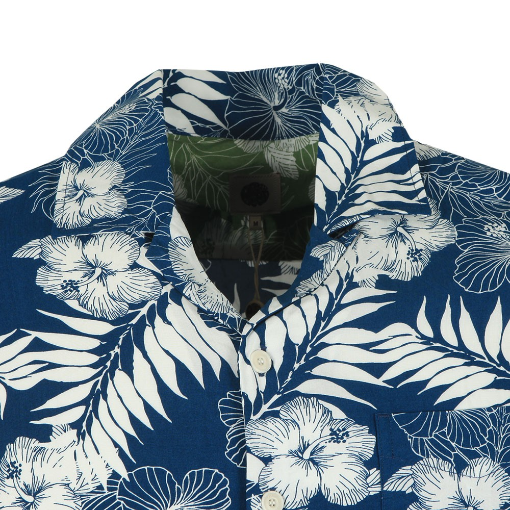S/S Floral Print Shirt main image