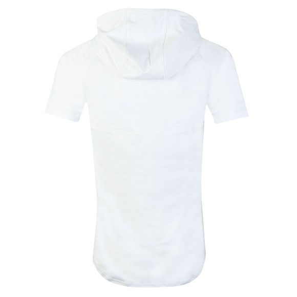 Sik Silk Mens White S/S Zonal Hood main image