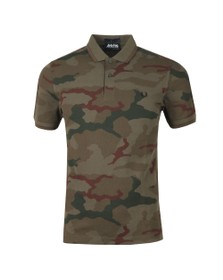 Fred Perry X Arktis Mens Green Camo Polo