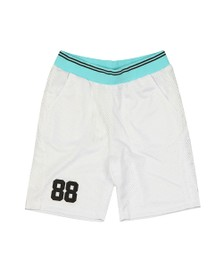 Eleven Degrees Mens White Basketball Shorts