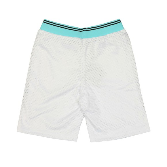 Eleven Degrees Mens White Basketball Shorts main image
