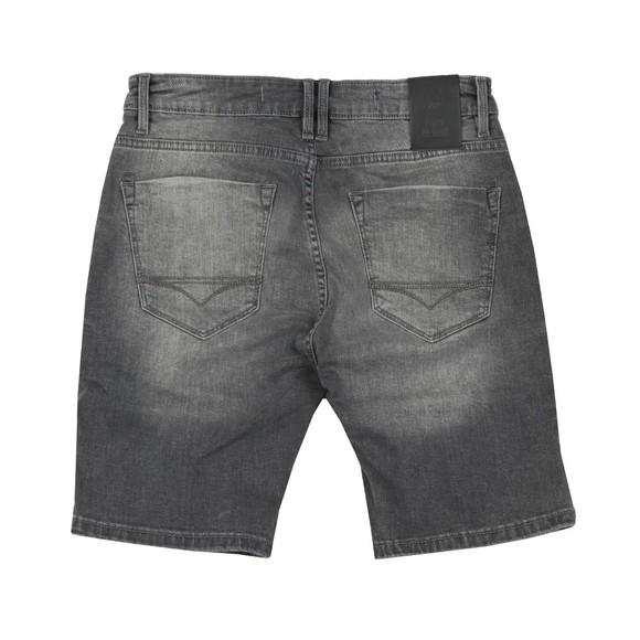 Luke 1977 Mens Black Nimed Denim Short main image