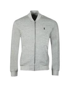 Polo Ralph Lauren Mens Vintage Salt LS Bomber Sweatshirt