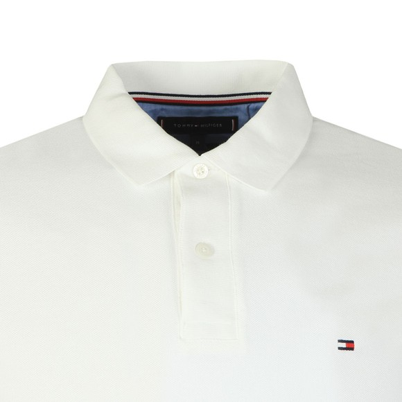 Tommy Hilfiger Mens White Basic Tipped Polo main image