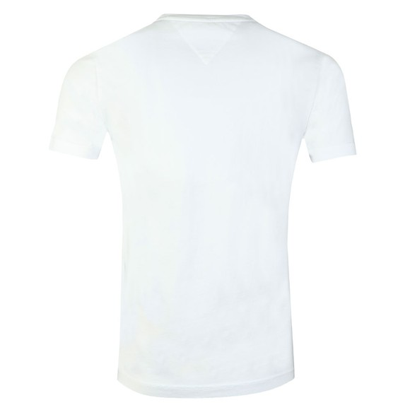 Tommy Hilfiger Mens White Corp Merge Tee main image