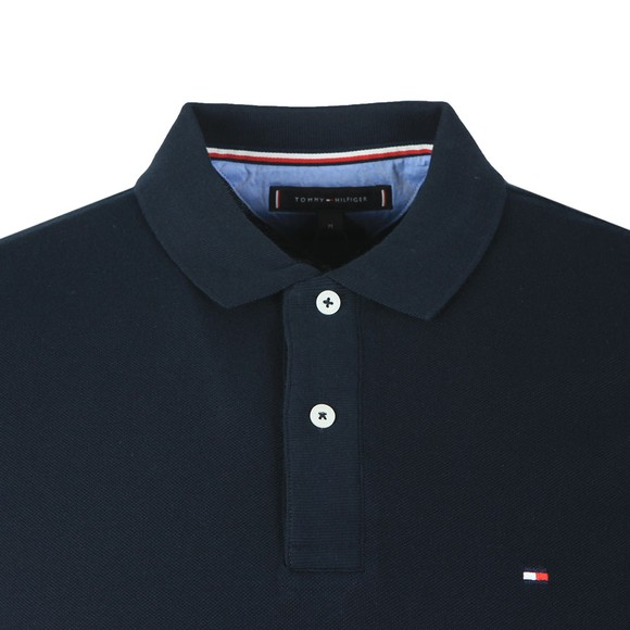 Tommy Hilfiger Mens Blue Basic Tipped Polo main image