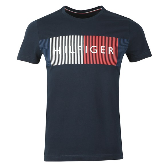 Tommy Hilfiger Mens Blue Corp Merge Tee main image