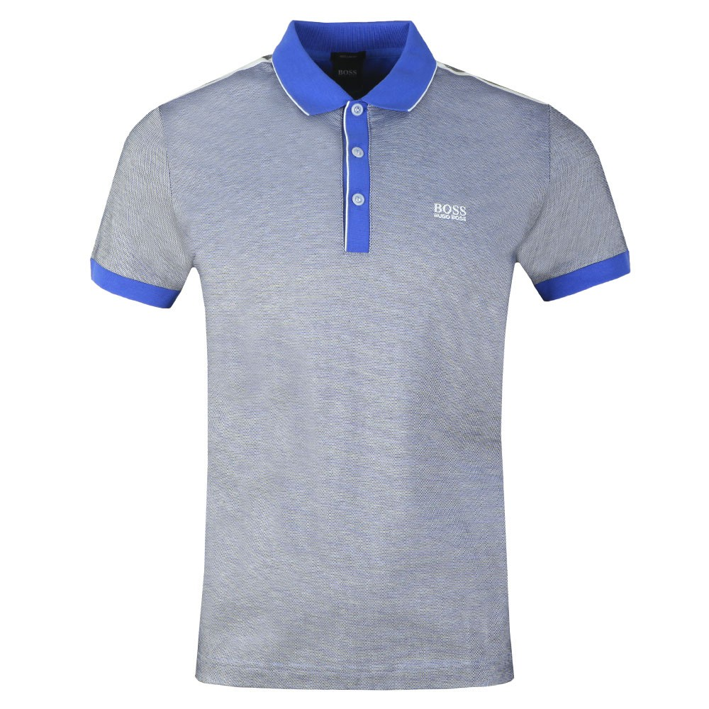 392644604 BOSS Athleisure Paddy 2 Striped Polo Shirt | Oxygen Clothing