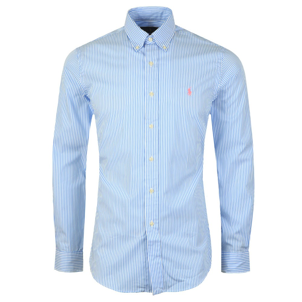a8f62b5892 Polo Ralph Lauren Slim Fit Striped Shirt | Oxygen Clothing