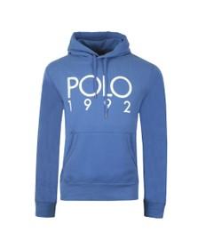 Polo Ralph Lauren Mens Blue Magic Fleece Polo 1992 Hoodie