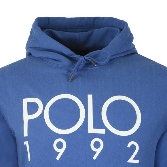 Polo Ralph Lauren Mens Blue Magic Fleece Polo 1992 Hoodie main image