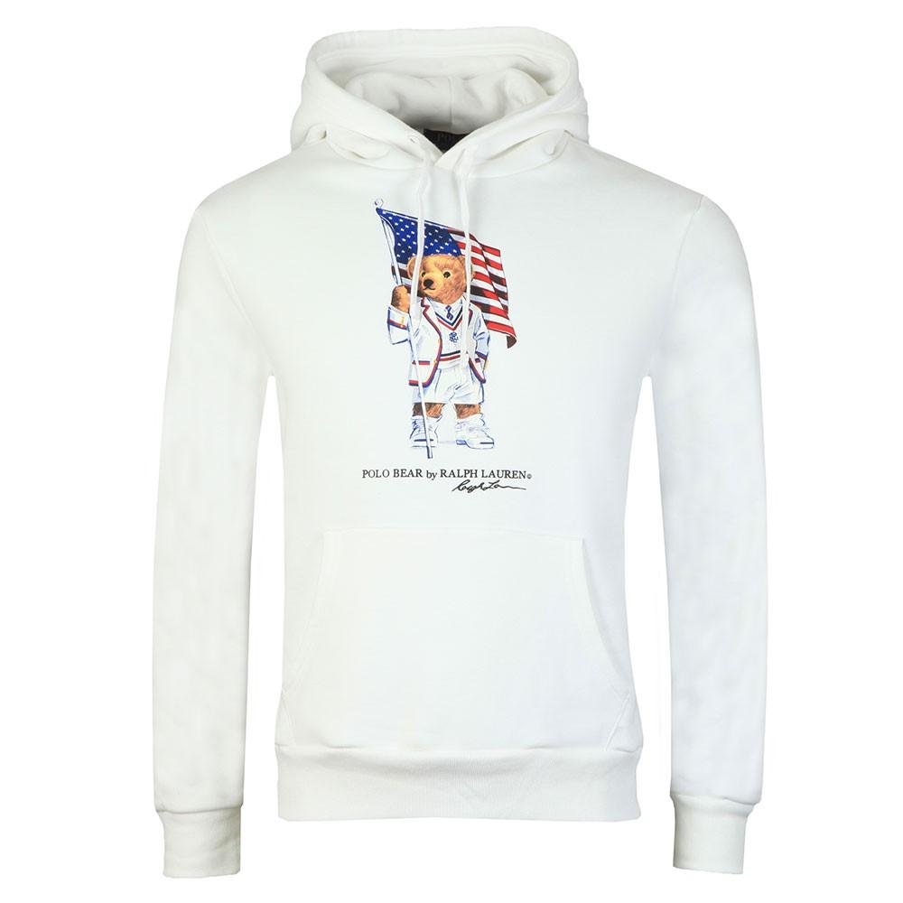 9462306b Polo Bear By Ralph Lauren American Flag Bear Hoodie