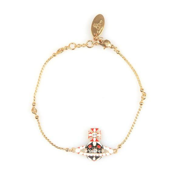 Vivienne Westwood Womens Gold Gabriella Bas Relief Bracelet
