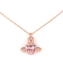 Vivienne Westwood Womens Pink Ariella Pendant