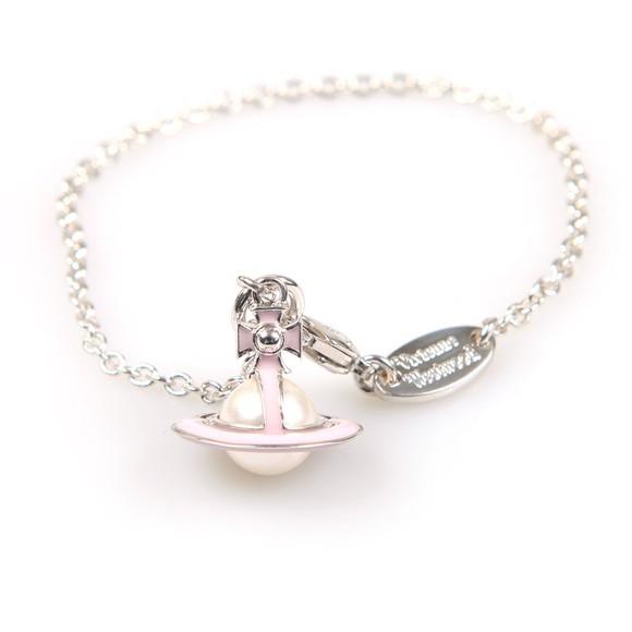 Vivienne Westwood Womens Silver Iris Orb Bracelet
