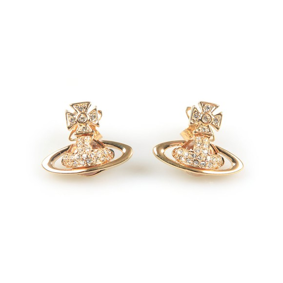 Vivienne Westwood Womens Gold Sorada Bas Relief Orb Earrings main image