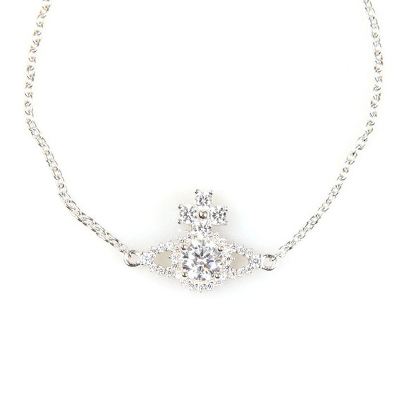 Vivienne Westwood Womens Silver Valentina Orb Bracelet main image