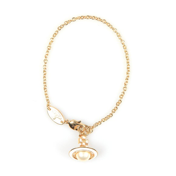 Vivienne Westwood Womens Gold Iris Orb Bracelet main image