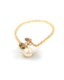 Vivienne Westwood Womens Gold Iris Orb Bracelet