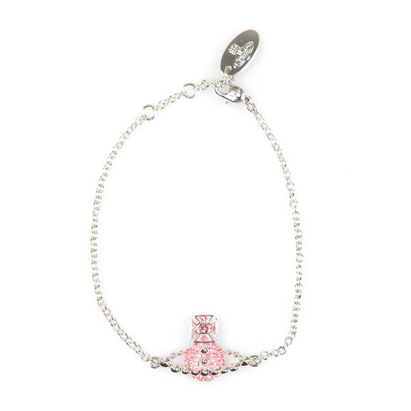 Vivienne Westwood Womens Pink Lena Bas Relief Bracelet