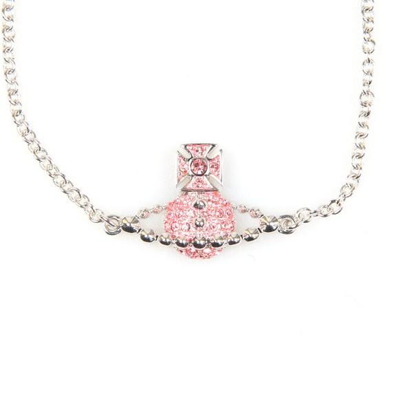 Vivienne Westwood Womens Pink Lena Bas Relief Bracelet main image