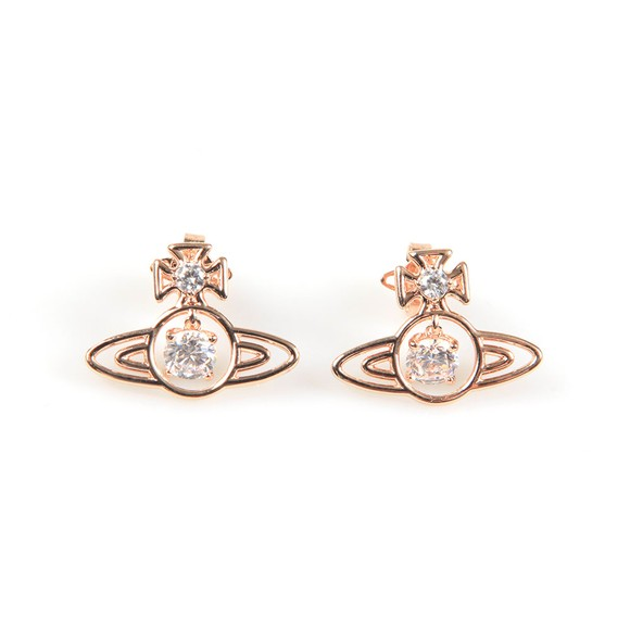 Vivienne Westwood Womens Pink Sheila Earrings main image