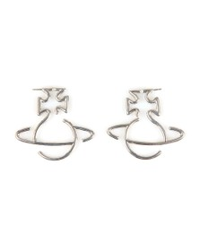 Vivienne Westwood Womens Silver Fortunata Earring