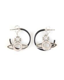 Vivienne Westwood Womens Silver Miranda Earrings